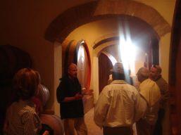 Tenute Silvio Nardi, Montalcino, 2009 with visitors from Panama City