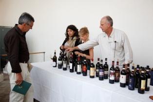 Public tasting, Festa della Musica 2011, Montalcino